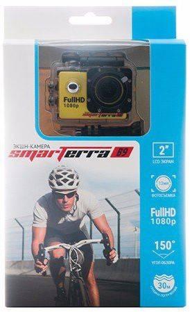 Экшн-камера Smarterra B9 желтый - фото 5