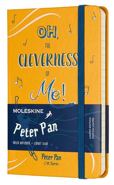 Блокнот Moleskine Limited Edition PETER PAN Pocket (LEPN01BMM710) - фото 1