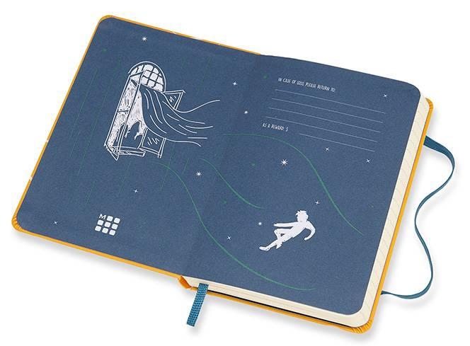 Блокнот Moleskine Limited Edition PETER PAN Pocket (LEPN01BMM710) - фото 3