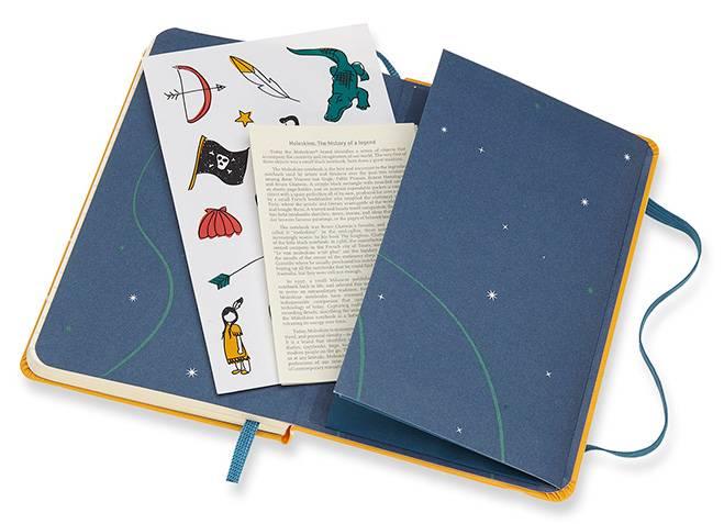 Блокнот Moleskine Limited Edition PETER PAN Pocket (LEPN01BMM710) - фото 6
