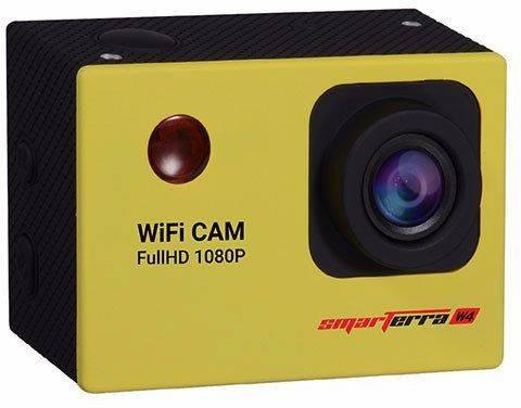 Экшн-камера Smarterra W4 желтый - фото 1