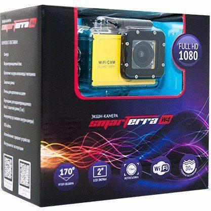 Экшн-камера Smarterra W4 желтый - фото 2