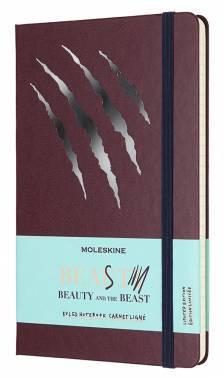 Блокнот Moleskine Limited Edition BEAUTY & BEAST Large (LEBB01QP060BS)
