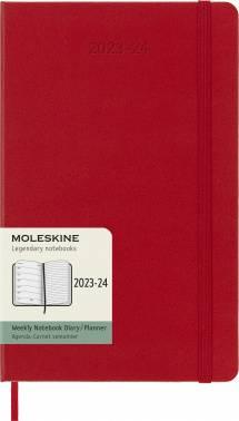 Еженедельник Moleskine Academic WKNT красный (DHF218WN3)