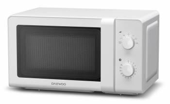 Микроволновая Печь Daewoo KOR-6627W белый, мощность 700Вт, объем 20л, механическое управление