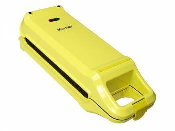 Вафельница Kitfort KT-1611 желтый / черный