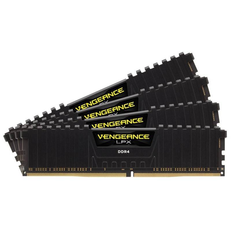 Модуль памяти DIMM DDR4 4x8Gb Corsair CMK32GX4M4A2133C15 - фото 1