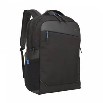 Рюкзак для ноутбука Dell Professional черный, рекомендуемая диагональ 17, не съемный ремень, карманов внешних: 3шт, карманов внутренних: 3шт (460-BCFG)