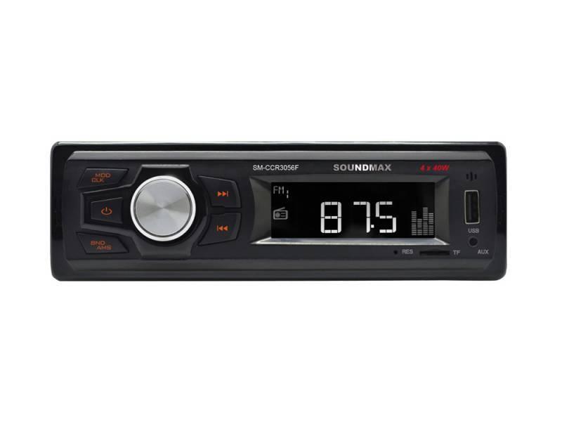 Автомагнитола Soundmax SM-CCR3056F (SM-CCR3056F(ЧЕРНЫЙ)\OR\NEW) - фото 1