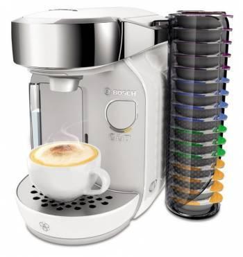 Кофемашина Bosch Tassimo TAS7004 белый/серебристый