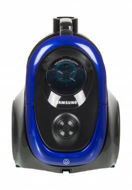 Пылесос Samsung VC18M2110SB синий, мощность 1800Вт, уборка: сухая, объем пылесборника 1.5л, мощность всасывания 380Вт, длина шнура 6м