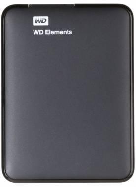 Внешний жесткий диск 2Tb WD Elements Portable WDBU6Y0020BBK-WESN черный USB 3.0