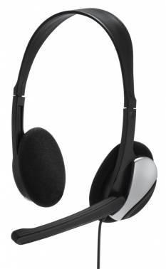 Наушники с микрофоном Hama Essential HS 200 черный (00139900)