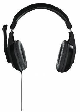 Наушники с микрофоном Hama Offbeat серый