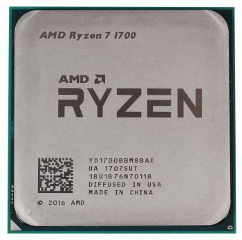 Процессор AMD Ryzen 7 1700 SocketAM4 OEM (YD1700BBM88AE)