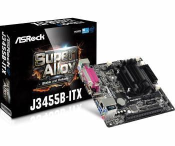 Материнская плата Asrock J3455B-ITX mini-ITX