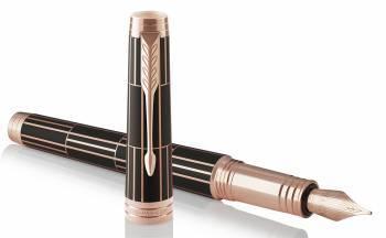Ручка перьевая Parker Premier F565 Luxury Brown PG (1931397)