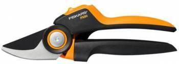 Секатор Fiskars PowerGear PX92 малый черный/оранжевый (1023630)