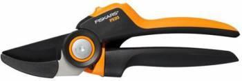 Сучкорез плоскостной Fiskars PowerGear PX93 большой черный / оранжевый (1023629)