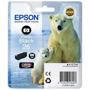 Картридж Epson T2611 фото черный (c13t26114012)
