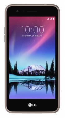 Смартфон LG K7 (2017) X230 8ГБ коричневый (LGX230.ACISBN)