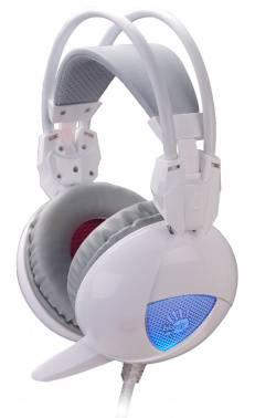 Наушники с микрофоном A4 Bloody G310 белый