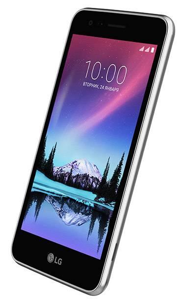 Смартфон LG K7 (2017) X230 8ГБ титан - фото 3
