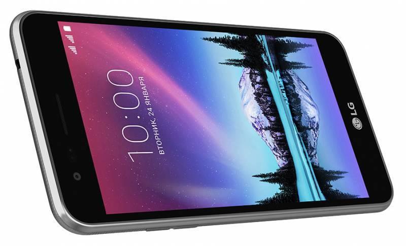 Смартфон LG K7 (2017) X230 8ГБ титан - фото 4