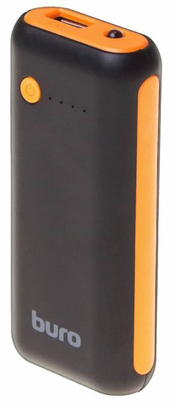 Мобильный аккумулятор BURO RC-5000BO черный - фото 1