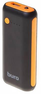 Мобильный аккумулятор BURO RC-5000BO черный