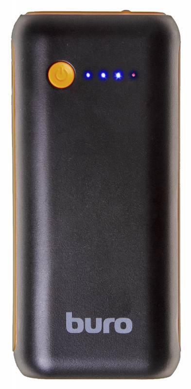 Мобильный аккумулятор BURO RC-5000BO черный - фото 2