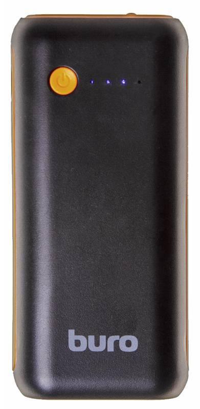 Мобильный аккумулятор BURO RC-5000BO черный - фото 3