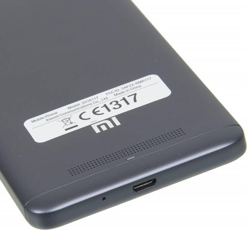 Смартфон Xiaomi Redmi 4A 16ГБ серый - фото 10