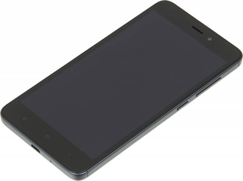 Смартфон Xiaomi Redmi 4A 16ГБ серый - фото 2