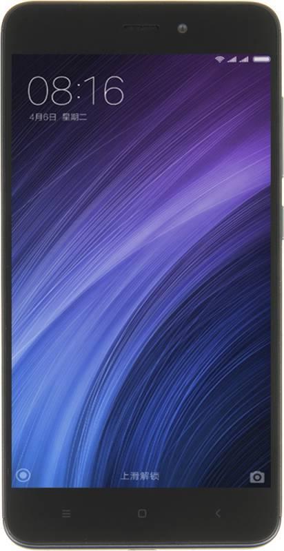 Смартфон Xiaomi Redmi 4A 16ГБ серый - фото 5