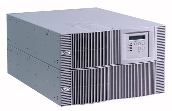 ИБП Powercom Vanguard VGD-6K-RM (батарейный блок 48785 выписывается отдельно) 4200Вт белый - фото 1