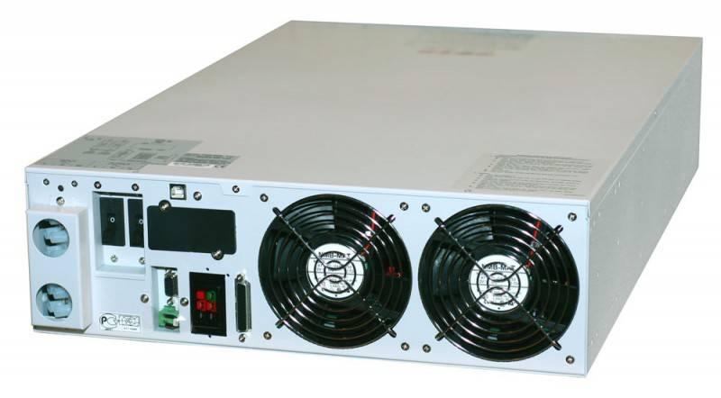 ИБП Powercom Vanguard VGD-6K-RM (батарейный блок 48785 выписывается отдельно) 4200Вт белый - фото 2