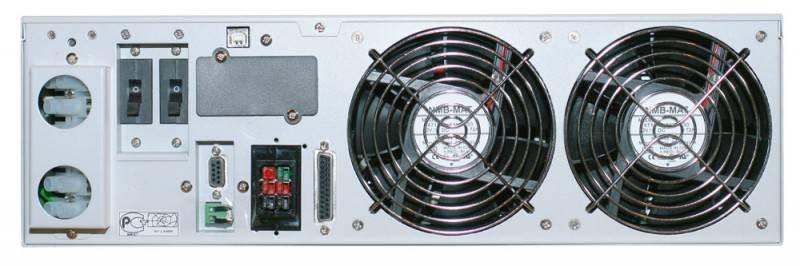 ИБП Powercom Vanguard VGD-6K-RM (батарейный блок 48785 выписывается отдельно) 4200Вт белый - фото 3