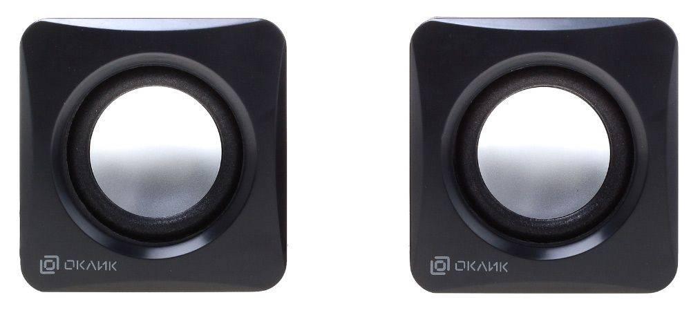Колонки Oklick OK-330 черный (HS-01) - фото 2