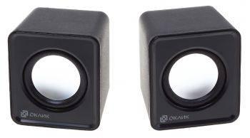 Колонки Оклик OK-331 черный (HS-01A BLACK)