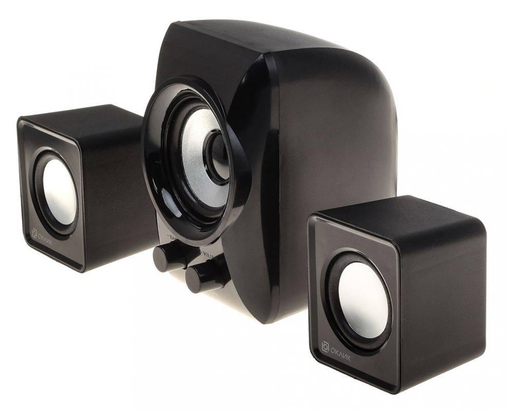 Колонки Oklick OK-420 черный (HS-35 BLACK) - фото 2