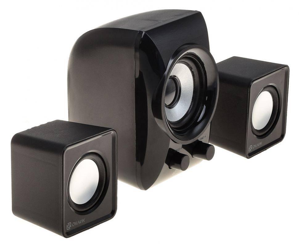 Колонки Oklick OK-420 черный (HS-35 BLACK) - фото 3