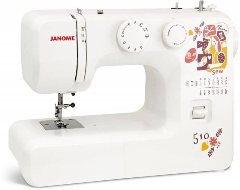 Швейная машина Janome Sew dream 510 белый - фото 1