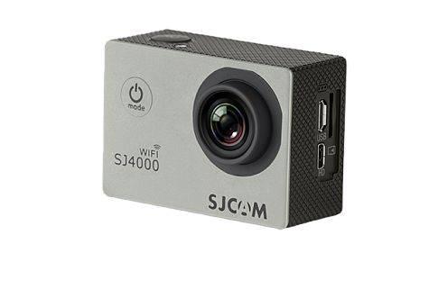 Экшн-камера SJCam SJ4000 Wi-Fi серебристый - фото 1
