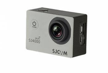 Экшн-камера SJCam SJ4000 Wi-Fi серебристый (SJ4000WIFISILVER)