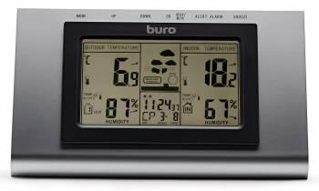 Погодная станция Buro H127G серебристый