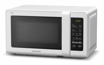 Микроволновая Печь Daewoo KOR-662BW белый, мощность 700Вт, объем 20л, электронное управление