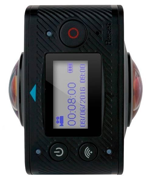 Экшн-камера Gigabyte Jolt Duo черный - фото 3