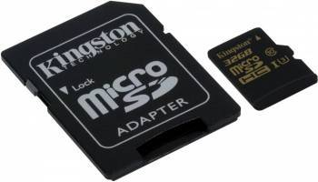 Карта памяти microSDHC 32Gb Class10 Kingston SDCG / 32GB