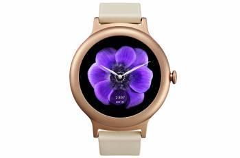 Смарт-часы LG Watch Style W270 розовое золото